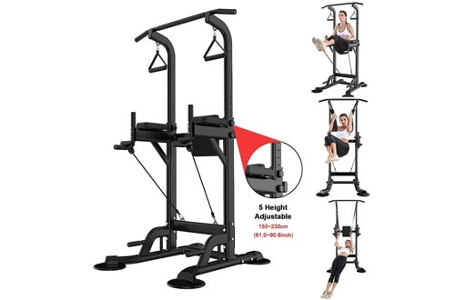 Homefami Dip Station Chin Up Bar Pull Push Home Gym Fitness Equipment Strength Training Workout Exercise Workout Rack
