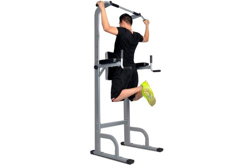 HYD-Parts Power Tower,Standing Full Body Chin up Bar,Adjustable Dip Station,Strength Muscle Training Fitness Workout
