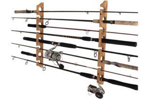 Rush Creek Creations Fishing Rod/Pole Storage Wall/Ceiling Rack