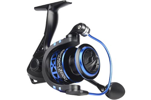 KastKing Summer and Centron Spinning Reels, 9 +1 BB Light Weight, Ultra Smooth Powerful, Size 500 is Perfect for Ultralight/Ice Fishing