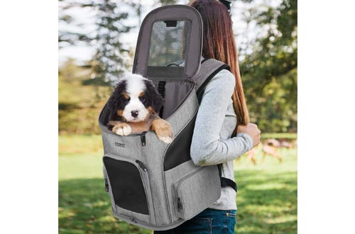 Dog Backpack Carrier, Dog Carrier Backpack for Small Dogs Cats