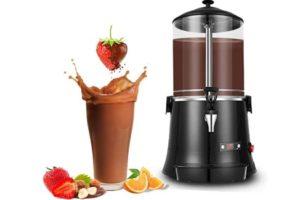 YUCHENGTECH 10L Commercial Hot Chocolate Maker Machine Chocolate Dispenser Warmer Hot Beverage Warmer for heating Chocolate Coffee Milktea