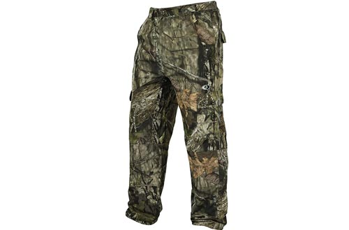 Mossy Oak Men's Tibbee Technical Lightweight Camo Hunting Pants Pant