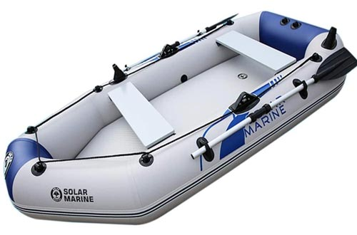 Havoc Inflatable Boat Set 3 Person Rubber Boat Thickened Fishing Boat Hard Bottom Boat Hovercraft