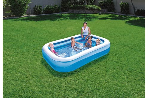 Bestway Toys Domestic Blue Rectangular Family Pool