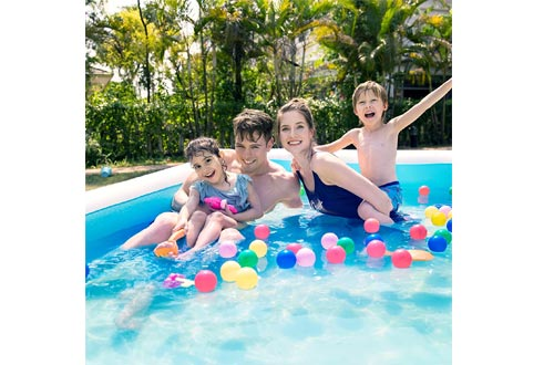 Sable Inflatable Pool, Swimming Pool for Baby