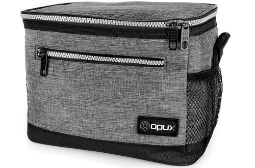 OPUX Premium Lunch Box, Insulated Lunch Bag for Men Women Adult | Durable School Lunch Pail for Boys