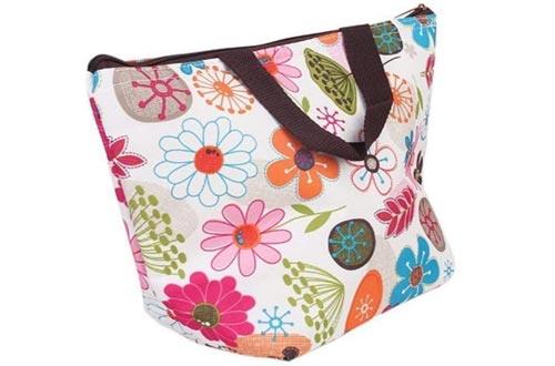 Waterproof Picnic Insulated Fashion Lunch Cooler Tote Bag Travel Zipper Organizer Box