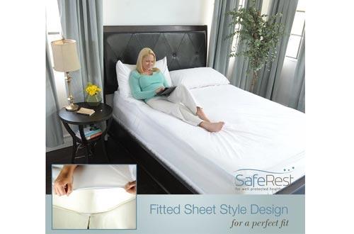 SafeRest Queen Size Premium Hypoallergenic Waterproof Mattress Protector