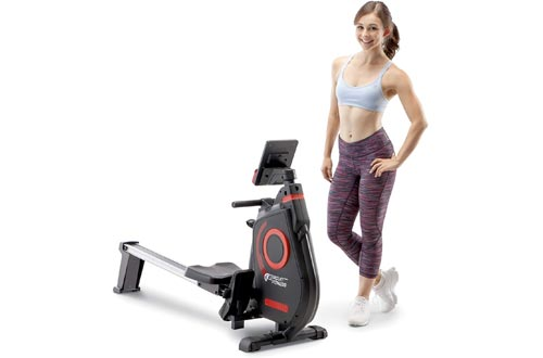 Circuit Fitness Folding Magnetic Rowing Machine - Cardio Body Building Rower