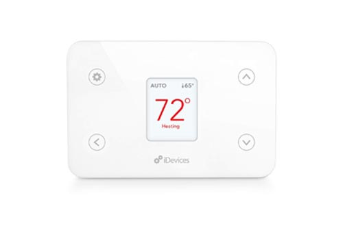 iDevices IDEV0005AND5 Wi-Fi Smart Thermostat, Works with Alexa, White