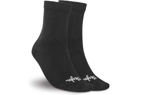 Skyba 100% Waterproof Socks For Men Women-Breathable Anti-Odor Insulated Crew Socks