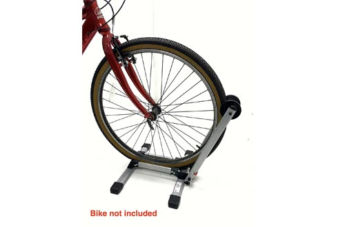 """MaxxHaul 80717 Foldable Floor Bike Stand Fits 20""""-29"""" Sports Bicycles"""