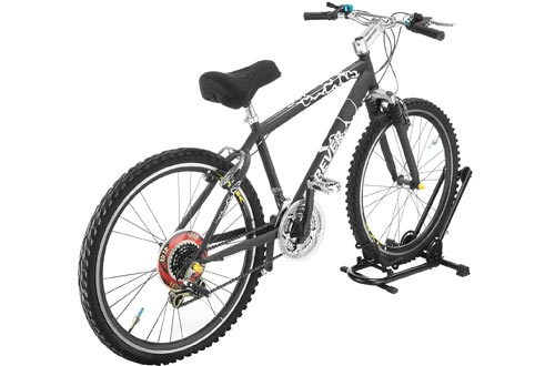 RAD Cycle Foldable Bike Rack Bicycle Storage Floor Stand Fold it Up and Take it with You. Compact Storage