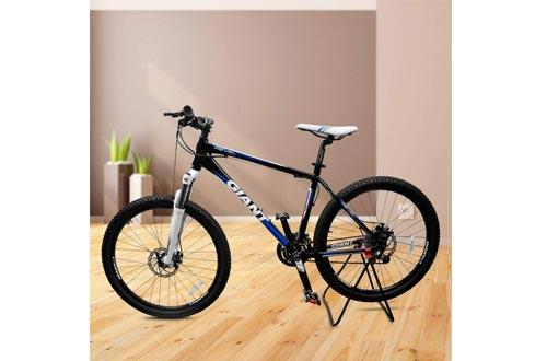 Ibera Easy Utility Bicycle Stand, Adjustable Height, Foldable Mechanic Repair Rack Bike Stand