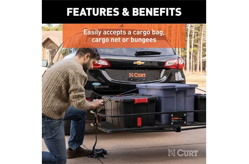 CURT Basket-style Cargo Carrier for 2-Inch Receivers