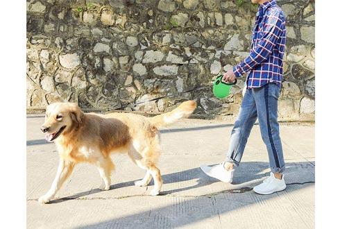 SENYE Retractable Dog Leash,16ft Dog Traction Rope for Large Medium Small Dogs,Break & Lock System