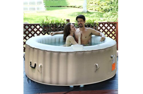 RASIKA SHOP Air Bubble Inflatable Hot Tub Portable Outdoor