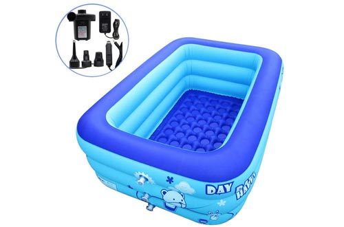ECOiNVA Air Pump Inflatable Hot Tubs
