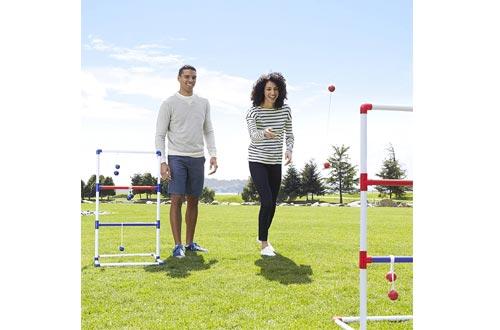 AmazonBasics Ladder Toss Outdoor Lawn Game Set