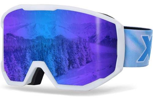 XR Ski Snowboard Goggles Anti-Fog UV Protection