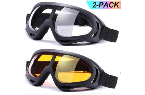 LOEO Ski Goggles Pack of 2