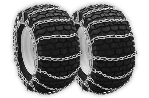 OakTen Set of Two Snow Thrower Tire Chain