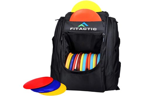 FITactic Luxury Frisbee Disc Golf Bag Backpack