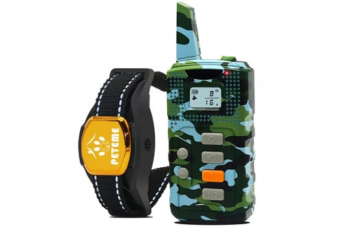 Peteme Shock Collars for Dogs with Remote