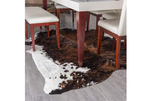 Amazing RODEO Cowhide Rug