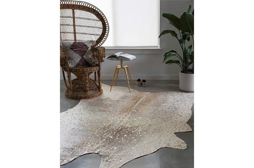 Loloi II Bryce Collection Faux Cowhide Area Rug