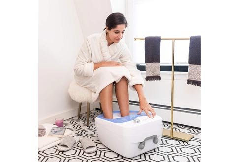 LiveFine Foot Spa w/Adjustable Speed