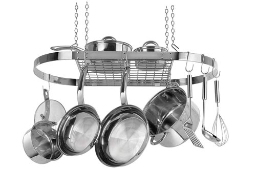 Range Kleen CW6001 Stainless Steel Hanging Oval Pot Rack