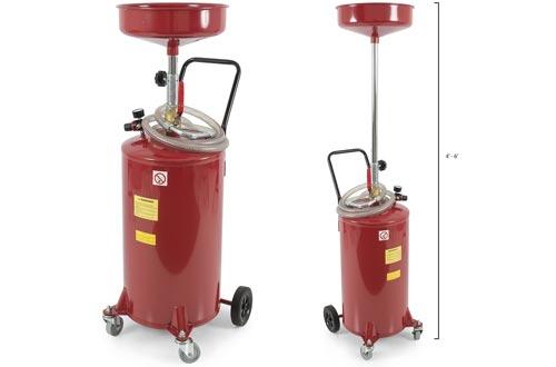 ARKSEN 20 Gallon Portable Waste Oil Drain Tank