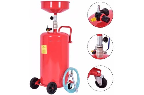 Goplus 20 Gallon Heavy Duty Portable Waste Oil Drain