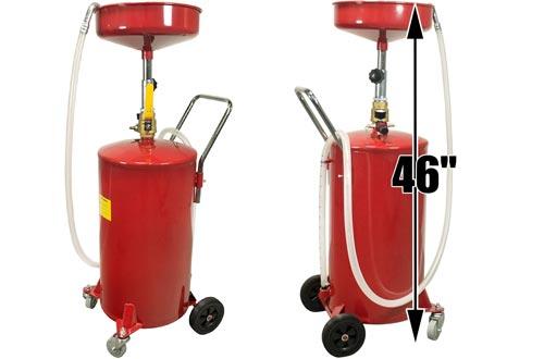 Dragway Tools 18 Gallon Oil Waste Drain Tank