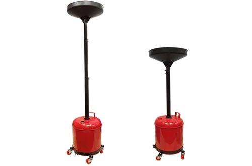Portable 5 Gallon Telescopic Oil Drain