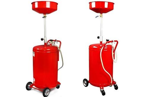 XtremepowerUS 20 Gallon Portable Waste Oil Drain