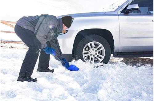 Hopkins 17211 SubZero Auto Emergency Snow Shovel with Extendable Handle
