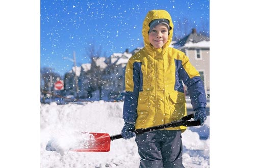Detachable Plastic Emergency Snow Shovel