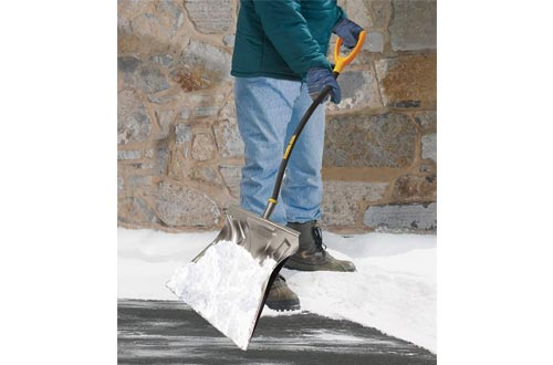 True Temper 1613400 Aluminum Snow Shovel
