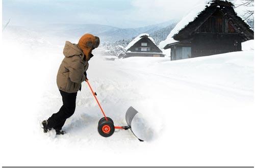 Ohuhu Snow Shovel for Driveway