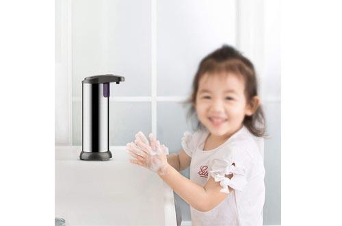 Stainless Steel Hand Free Auto Sensor Soap Dispenser