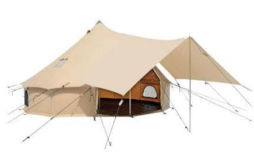 Awning for Premium 100% Cotton Canvas Bell Tent