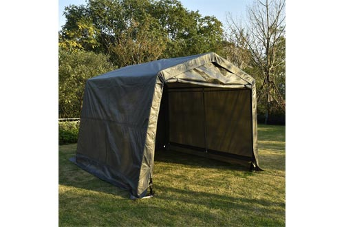 Bestmart INC Auto Shelter Canopy Carport Deep Gray
