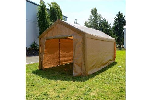ALEKO CP1020BE Outdoor Event Carport Garage Canopy Tent Shelter Storage