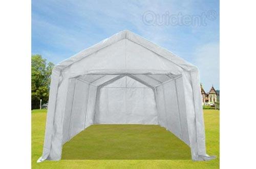Overwhelming 10'x20' Heavy Duty Carport Outdoor Car Canopy Garage Car Shelter