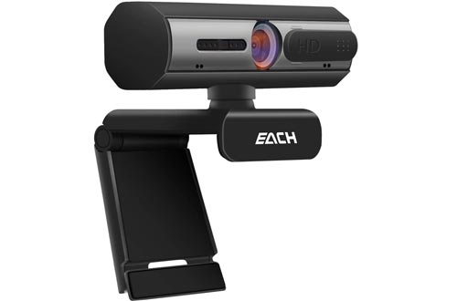 AutoFocus Full HD Webcam 1080P with Privacy Shutter