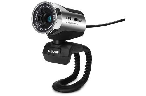 AUSDOM AW615 Computer Camera with Microphone USB Web Cam