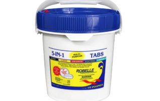 Robelle 1410M 5-in-1 3-Inch Multi-Purpose Swimming Pool Chlorine Tabs